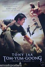 "TOM-YUM-GOONG ""FLYING ATTACKERS"" MOVIE POSTER V.1-Tony Jaa, Prachya Pinkaew Film"