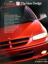 1997 Dodge Caravan/Grand Caravan new vehicle brochure