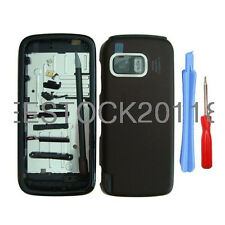 Dark Red Fascia Full Housing Case Cover Bezel Shell Keypad for Nokia 5800 +Tools