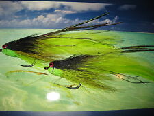 2 v fly taille 2/0 ultimate alphonse rv tableau poisson-appât saltwater flies