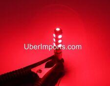 2x BA9s Red 13 5050 SMD LED 1895 T4W Bayonet