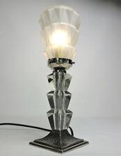 ART DECO TISCHLAMPE Skyscraper, Frankreich um 1920 Lampe Leuchte
