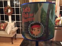 RARE Jake And The Neverland Pirates Lamp Disney  2012