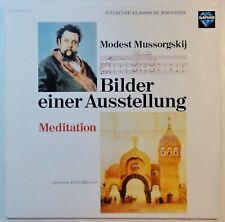 9592) LP - Mussorgskij - Bilder einer Ausstellung - Meditation - Eckle -