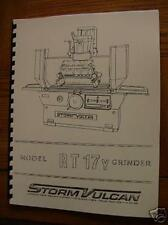 Storm Vulcan RT17Y Surface Grinder Manual Scledum