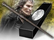 HARRY POTTER WEREWOLF FENRIR GREYBACK OFFICIAL DEATH EATER WAND +NAME CLIP STAND
