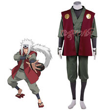 Cafiona Cheap Anime Naruto Jiraiya Cosplay Costume Halloween Outfits Custom Made