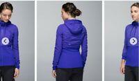 Lululemon Dance Studio Jacket III Reversible Bruised Berry Size 4 NWOT $128