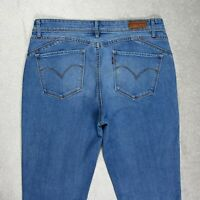 Womens LEVI'S Demi Curve Mid rise Skinny Jeans Size W30 L31 Denim Stretch Blue