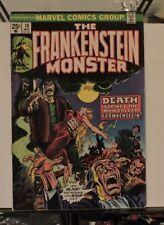 The Frankenstein Monster 10 (Volume 1 - 1973) - Marvel Horror