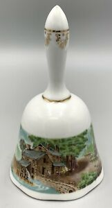 Vintage Currier & Ives Collectible Bell No 2311 Ltd Edition 1979 Roadside Mill