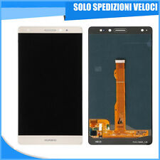 SCHERMO DISPLAY LCD + TOUCH SCREEN VETRINO HUAWEI MATE S BIANCO RICAMBIO CRR-L09