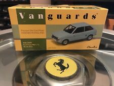 Vanguards Ford Fiesta Mk1 1.1L Nordic Blue 1/43 MIB Ltd Ed VA12500