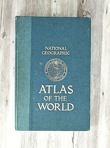 National Geographic Atlas of the World 5th edition1981 Hard Cover Book