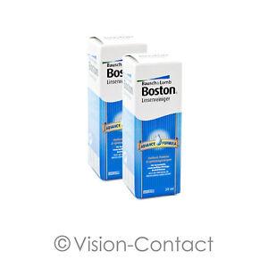 Boston Advance Reiniger 2 x 30ml Pflegemittel für harte Linsen von Bausch + Lomb