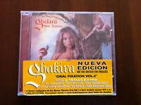 SHAKIRA - ORAL FIXATION VOL 2 - CD - 13 TRACKS - NEW & SEALED - NUEVO EMBALADO