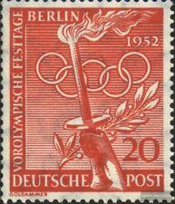 Berlin (West) 90 postfrisch 1952 Vorolympische Festtage