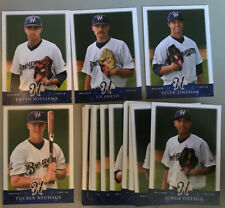 2014 Helena Brewers Set (missing 1) Milwaukee Brewers VERY RARE Williams Sneed