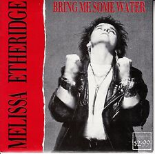 """MELISSA ETHERIDGE  Bring Me Some Water PICTURE SLEEVE 7"""" 45 rpm vinyl record NEW"""