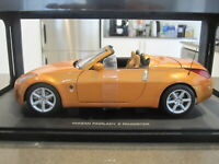 1:18 AUTOART 77377 NISSAN FAIRLADY Z 350Z ROADSTER SUNSET ORANGE *NEW*
