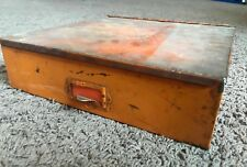 Vintage United Motors Service Parts Box Vintage Advertising Metal