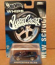 Hot Wheels Whips West Coast Customs blue Mercedes SL55 car 1:64 diecast NEW