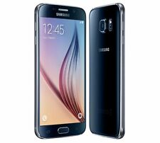 Samsung Galaxy S6 SM-G920F 32GB - Black (Unlocked) 7/10 screen peeling