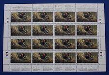 Canada (CN11) 1995 Wildlife Habitat Conservation Stamp Sheet (MNH)