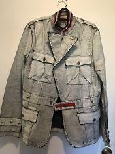 Zeus & Zeugma leather(?) mens medium jacket NWOT