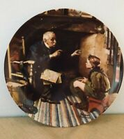 """Knowles  """"The Veteran"""" Collector Plate by Norman Rockwell Edwin M. Knowles NIB"""