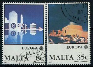 Malta 1987 SG#800-1 Europa, Modern Architecture Cto Used Set #E36777
