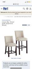 corrine bar stools from pier one