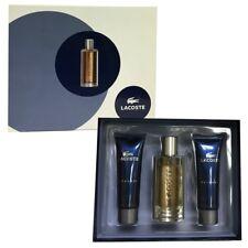 LACOSTE ELEGANCE 3 Pieces Gift Set:1.6 EDT Spray+ Balm ,1.6 oz Shower Gel