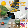 Solar Powered CCTV Security Camera IP 67 Wifi Wireless IR HD 1080P Outdoor 2019