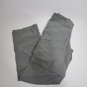 Patagonia Convertible Pants & Shorts Cargo Hiking Outdoors Grey Women's Size 6