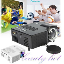 1080P Full HD 3D Multimedia Portable Projector LED Home Theater Cinema UK PlugHQ
