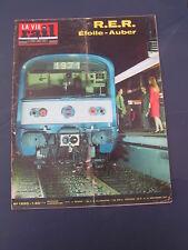 Vie du rail 1971 1320 RER SAINT GERMAIN EN LAYE THIONVILLE MONDORF LES BAINS