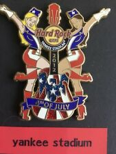 PIN HARD ROCK CAFE YANKEE STADIUM 4TH OF JULY 2012