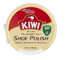 Kiwi Shoe Polish Protector Leather Boot 50ml Black - Neutral & Dark Tan Shoe