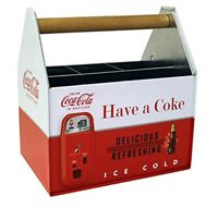 Coca-Cola Coke Besteckkasten Besteck Halter Stiftehalter USA Utensil Caddy