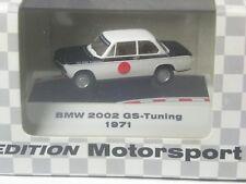 Klasse: Brekina BMW 2002 aus 19710 weiß-schwarz in großer OVP