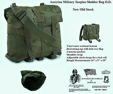 Austrian Military Surplus Shoulder Bag O.D. New Old Stock