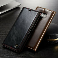 Genuine CaseMe Leather Wallet Flip Case Cover For Samsung Galaxy Note 10+ 9 S10+
