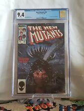 The New Mutants #18 (1984) CGC 9.4 1st full Demon Bear 1st Warlock. New Movie?