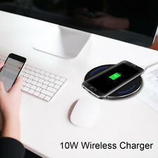 Qi, 10W Wireless Charging Pad for Apple iPhone 8/8+/X, Samsung, HTC, Huawei