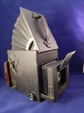 Vintage Auto Graflex 4x5 Accordion Viewing Hood Serial Number #9692 1906-1910