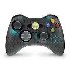 Xbox 360 Controller Skin Aufkleber Schutzfolie Sticker Skins Vinyl Exo small blu