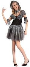 Gothic Bride, Adult Fancy Dress Costume, One Size
