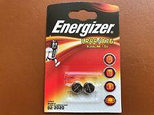 2 x Energizer LR44 1.5V Alkaline Battery A76 AG13 PX76A G13A Batteries