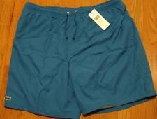 Mens Authentic Lacoste Sport Diamond Drawstring Athletic Shorts Blue 6 (XL) $60